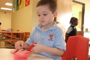 Montessori preschool classroom